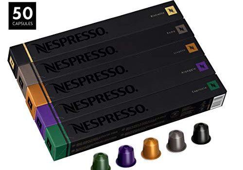 50 Nespresso Capsulas Café Variedad Popular