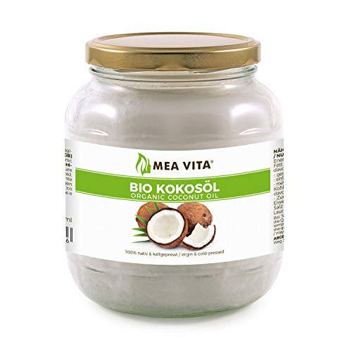 Aceite puro de coco virgen extra orgánico MeaVita 1 Litre (1 X 1000 ml)