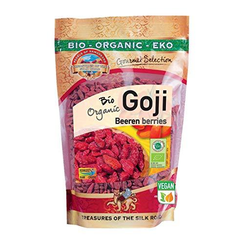 Bayas de Goji Naturales Bio sin azucar añadido 500 gr bajas grandes ecológicas Orgánicas