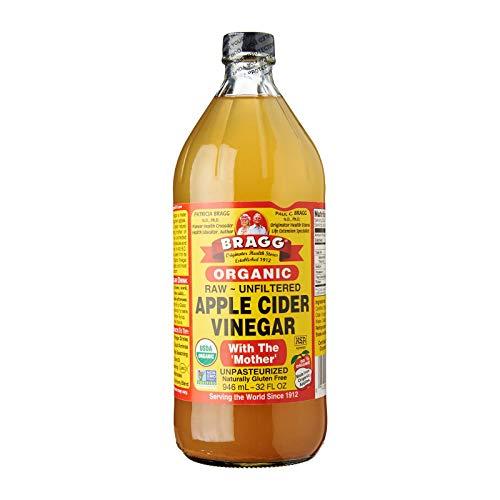 Bragg – orgánico Apple sidra vinagre Gallon, Basic, 32 onzas líquidas