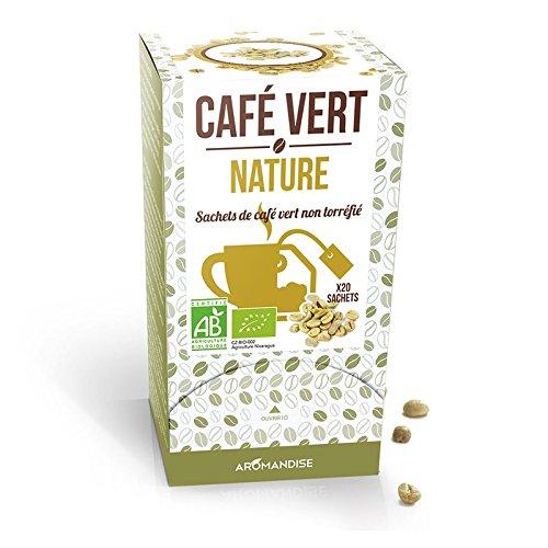 Café verde natural - 20 bolsitas