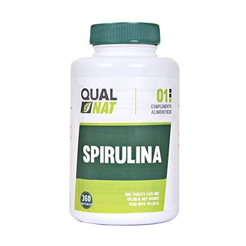 Espirulina Ecológica a base de alga para Cansancio y vitalidad, 360 Comprimidos