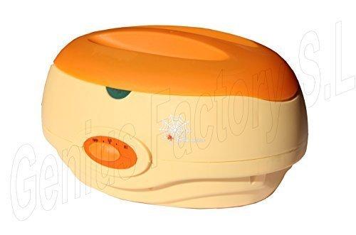 Genius Factory ® Calentador de Cera Profesional Parafina Calentamiento Rápido