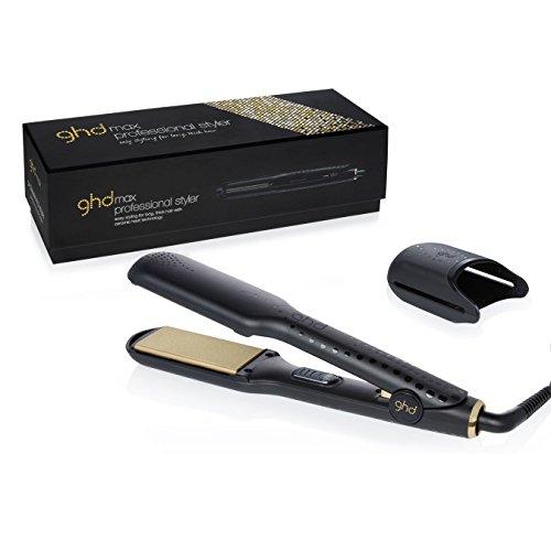 GHD V Gold Max Styler - Plancha para el cabello, voltaje universal