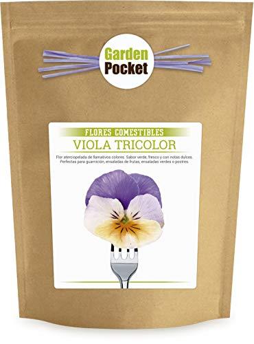 Kit cultivo Flores Comestibles - Pensamientos