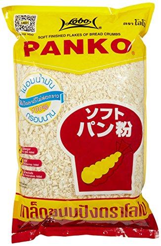Lobo Bread Crumbs Panko Japanese - Paquete de 6 x 1000 gr - Total: 6000 gr