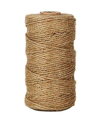 lumanuby 1 rollo de cordel de yute cuerda de yute natural vintage durable cuerda de - Cuerda De Yute