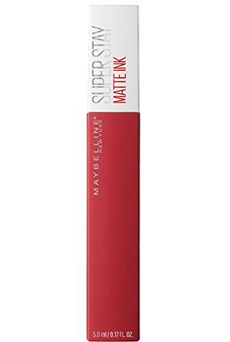 Maybelline New York Barra de Labios Mate Superstay Matte Ink, Tono 20 Pioneer