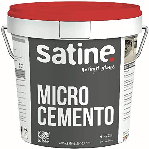 Microcemento Monocomponente Base Satine 20 Kg