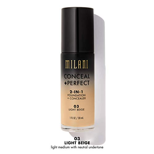 MILANI Conceal + Perfect 2-In-1 Foundation + Concealer - Light Beige