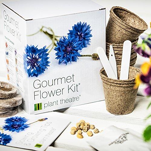 Plant Theatre - Kit de germinación flores comestibles Gourmet