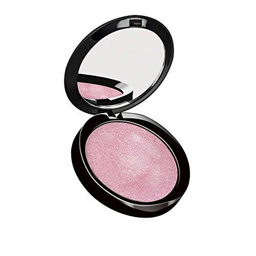 PUROBIO COSMETICS Bronzer Resplendent Illuminante 02 Rosa - Textura sedosa - Con un efecto de brillo delicado - Dibuja los contornos suavemente - Vegano - 9 gr
