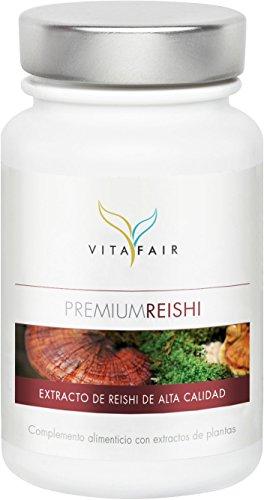Reishi (Ganoderma Lucidum) | 500mg por porción | 100 cápsulas | 30% de polisacáridos bioactivos | Vegano | Máxima biodisponibilidad | Hecho en Alemania