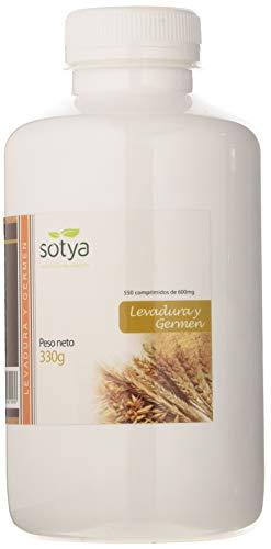 Sotya Levadura de Cerveza y Germen, Complemento Alimenticio, 550 Comprimidos, 600 mg