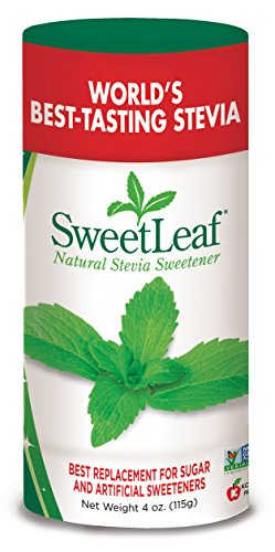SWEET LEAF - SteviaPlus Powder - 4 oz. (115 g)