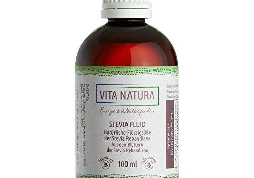 Vita Natura Stevia Líquido, Pack de 1 (1 x 100 ml)