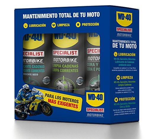 WD-40 Specialist Motorbike Tripack Mantenimiento Total de la Moto